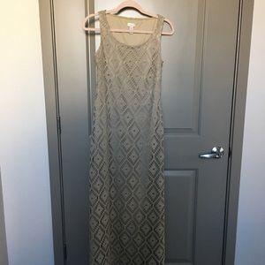 Chico's Crochet Dress